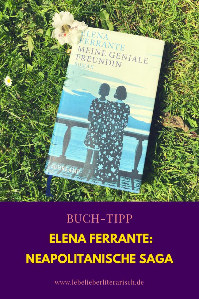 Elena Ferrante ist eine tolle Autorin, ein Phänomen und ein Rätsel. Denn obwohl jeder (oder zumindest jede Frau) Elena Ferrantes neapolitanische Saga gelesen zu haben scheint, weiß niemand, wer sie wirklich ist.  #literatur #buchtipp #elenaferrante