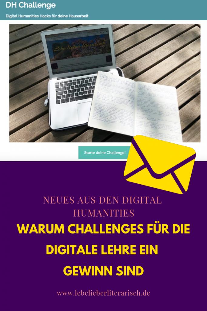 Challenges sind überall! Warum du das aktuelle Trendformat auch für deine digitale Lehre nutzen kannst, darüber berichte ich dir in diesem Blogbeitrag. Mit Podcast!   #digitalelehre #digitalliteracy #digitalkompetenz #digitalhumanities