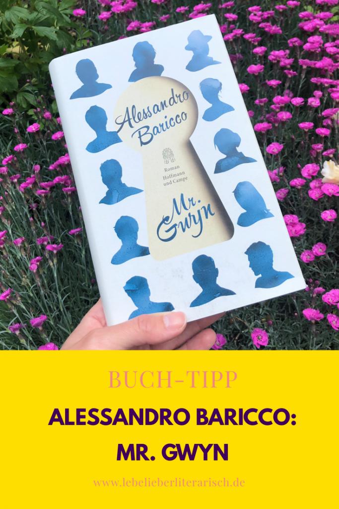 Mr. Gwyn von Alessandro Baricco ist ein schöner Roman über das Wesen der Menschen und über einenganzheitlichen Schriftsteller, der in einem menschen stets mehr sieht als eine Figur. #literatur #buch