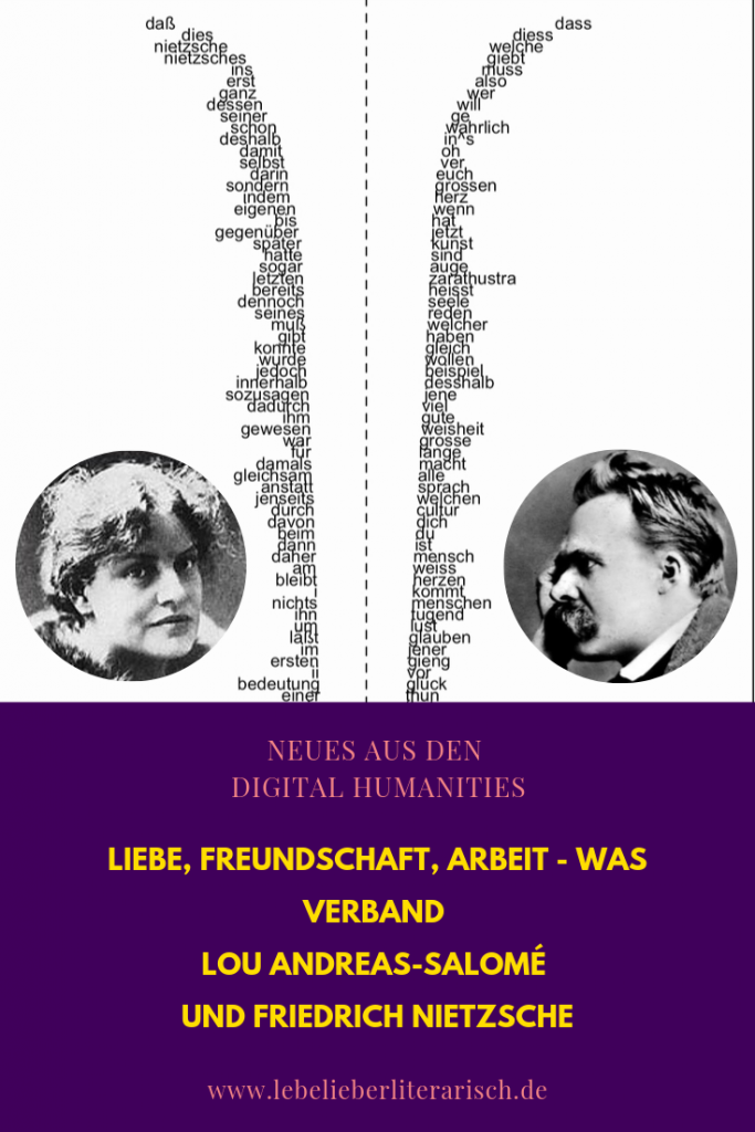 Lou Andreas-Salomé und Friedrich Nietzsche - wie sehr haben diese beiden einander inspiriert? Diese stilometrische Analyse zeigt Erstaunliches über die beiden Schreibenden, die weit mehr als nur ihre Arbeit verband. #Literatur #Philosophie #DigitalHumanities