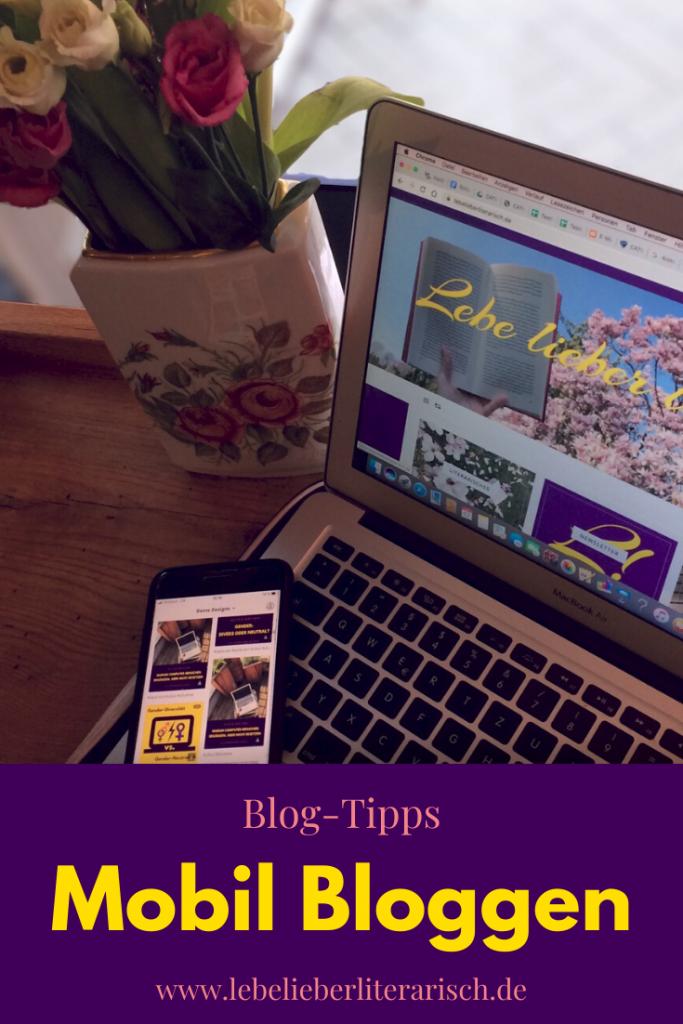 Mobil Bloggen ist praktisch, zeitökonomisch und manchmal auch richtig gemütlich. Welche Apps dir dabei helfen, deinen Blog nebenbei noch besser zu machen, erfährst du hier. #Bloggen #Mobilfirst #BlogTipps