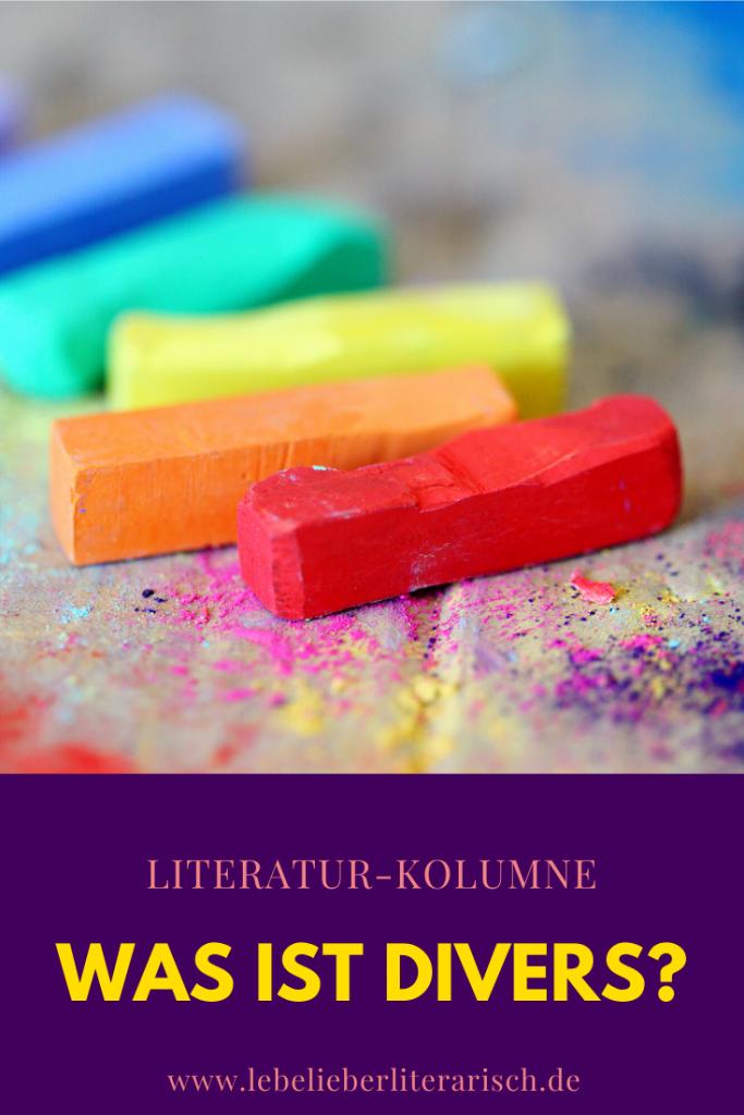 Was ist divers? Und in welchen Kontexten ist dieses Wort eigentlich wichtig? Diesen und anderen Fragen gehe ich in diesem Beitrag nach. #Literatur #Bücher #Diversität #Bildung #Scitainment