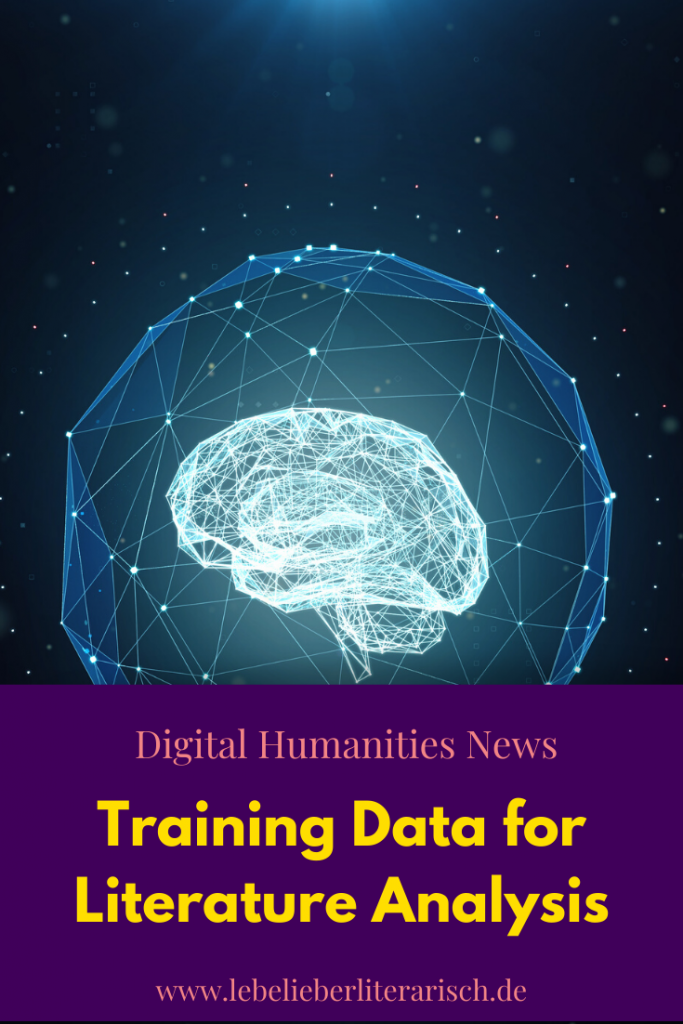 Machine Learning promises a brave new world for literary studies, but how exactly does training data have to be put together so that you can use it in literary studies? #Literary Studies #DigitalHumanities #Education #Technology