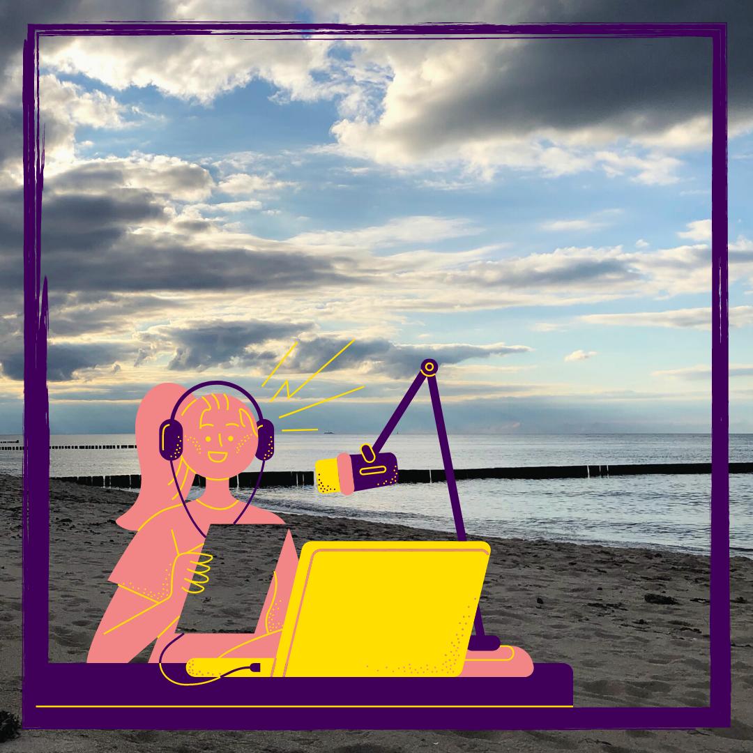 Blog und Podcast ein Dreamteam für die digitale Lehre #TwitterCampus #LitWiss #Edutainment